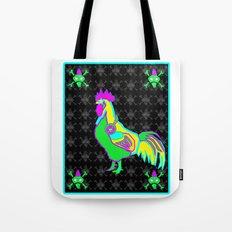 dubstep rooster Tote Bag