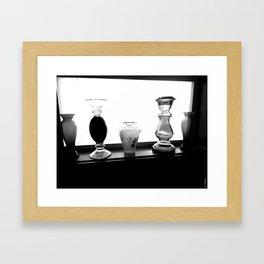 Vases (II) Framed Art Print