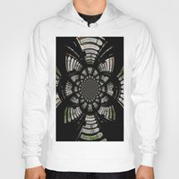 fractal Hoodies featuring Fractal by Aaron Carberry
