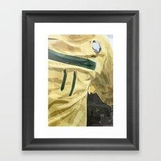 Neymar's Jersey Framed Art Print