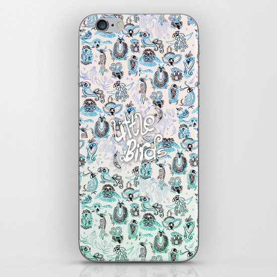 little birds iPhone & iPod Skin