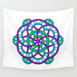 Celtic | Colorful | Mandala Wall Tapestry