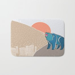 My home! Bath Mat