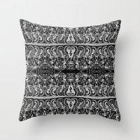 moto Throw Pillows featuring Moto Mania by Robbie Kaye