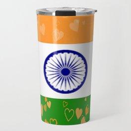 Love India-458 Travel Mug