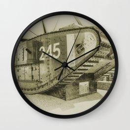 Tank 245 Wall Clock
