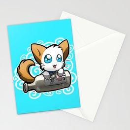 Zodiac Cats - Aquarius Stationery Cards