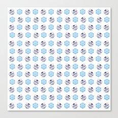 C1.3D Snowmoji Canvas Print