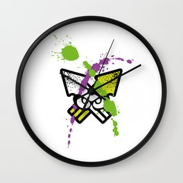 Splatoon - Turf Wars 2 Wall Clock