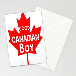 Good Canadian Boy  Stationery Cards