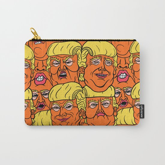 Trump Nightmare Pattern Carry-All Pouch