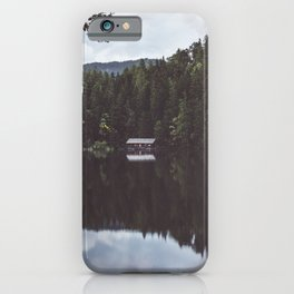 Cabin - Landscape and Nature Photography iPhone Case