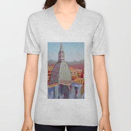 Memory of Turin Unisex V-Neck