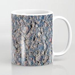 Asphalt and pebbles texture Coffee Mug