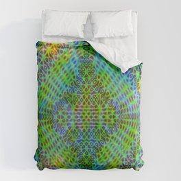 Colorful diffraction Comforters