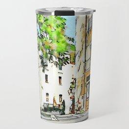 Tortora: glimpse with bar Travel Mug