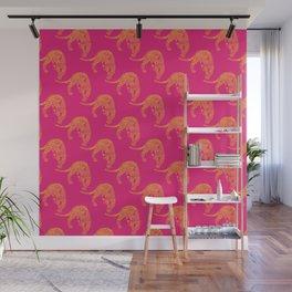 Wild Leopard Print Wall Mural