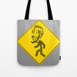 Mask man crossing Tote Bag
