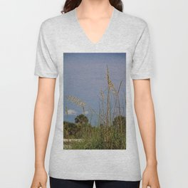 A Voice from Behind Unisex V-Neck
