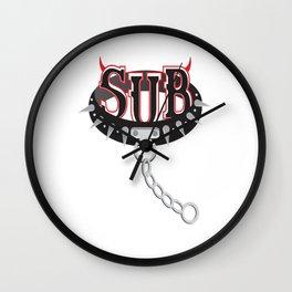 Sub Spike Collar Wall Clock