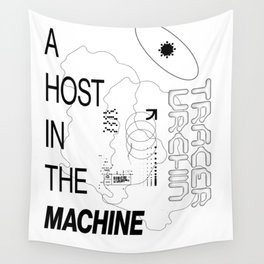 Ghost in the Machine Wall Tapestry