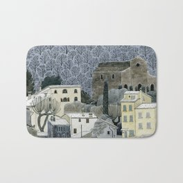 Winter Town Bath Mat