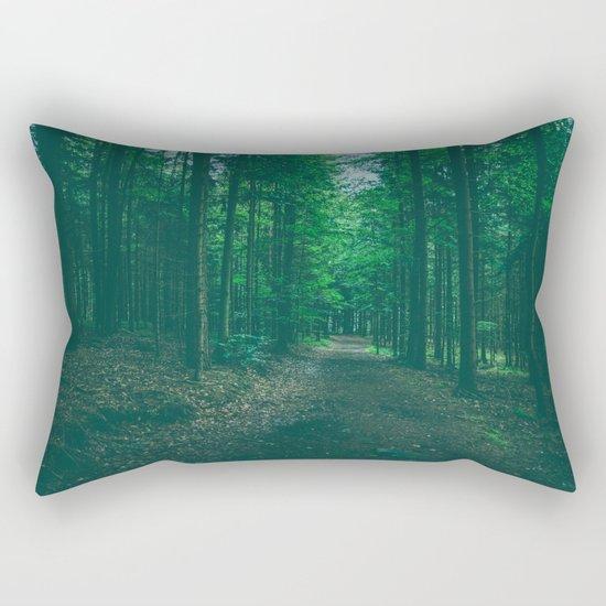 Walk With Me Rectangular Pillow
