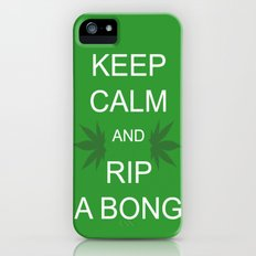 Keep Calm and Rip a Bong Slim Case iPhone (5, 5s)