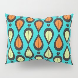Dance With Me Mid-Century Modern Design Pillow Sham