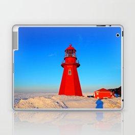Lighthouse  and Frozen Sea Laptop & iPad Skin