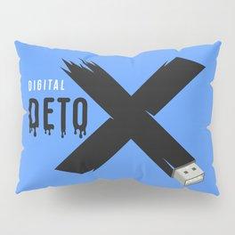 Digital detox letter x Pillow Sham