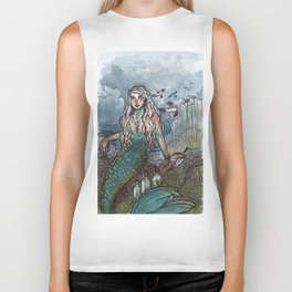 Tempest Mermaid Biker Tank
