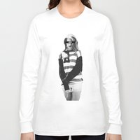 american Long Sleeve T-shirts featuring American by FREE Designs