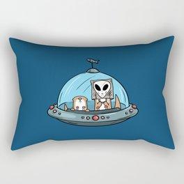 UFO Rectangular Pillow