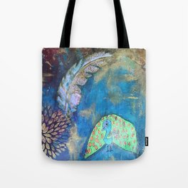 Feather Bird Tote Bag