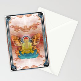 buddherfly #2 Stationery Cards
