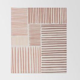 Terra Line Maze Throw Blanket
