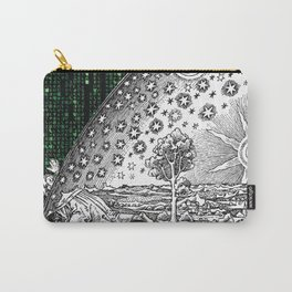 Matrix Flammarion THE ANSWER IS OUT THERE Carry-All Pouch