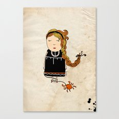 Cancer Girl  Canvas Print
