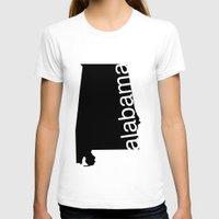 alabama T-shirts featuring Alabama by Isabel Moreno-Garcia