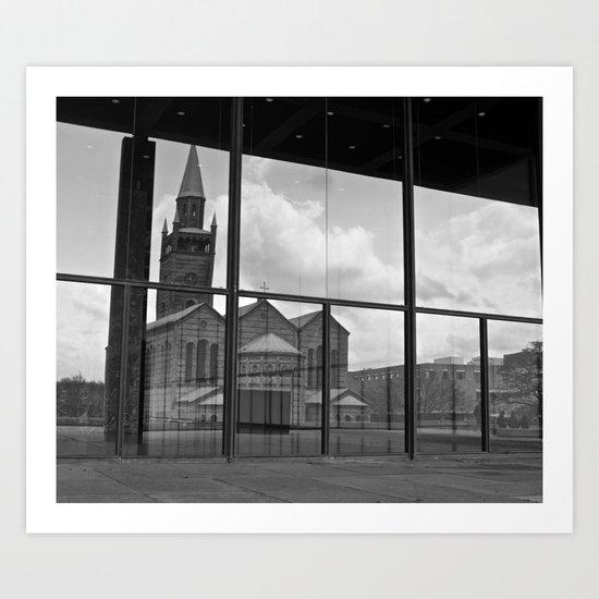 Church of glass Art Print