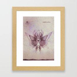 Endlos. Ziellos. Framed Art Print