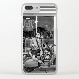 Owl in the Valley Clear iPhone Case