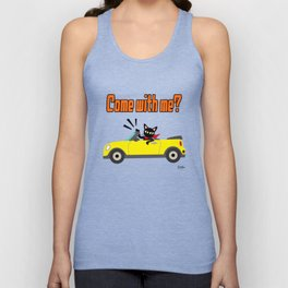 Whim in the car Unisex Tank Top
