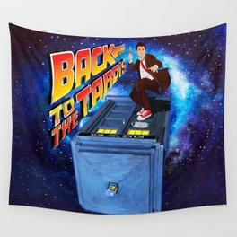Back to The Tardis Wall Tapestry