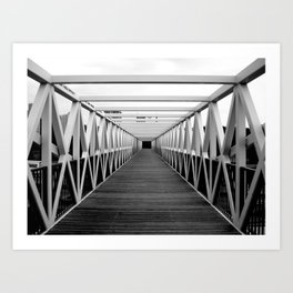 Irene Hixon Whitney Bridge Art Print