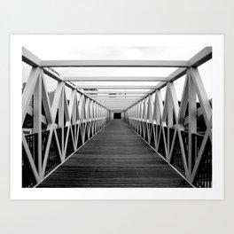 Irene Hixon Whitney Bridge Art Print