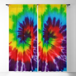 Tie-Dye Blackout Curtain