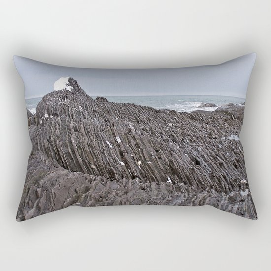 The Ends of the Earth are Frozen in Time Rectangular Pillow