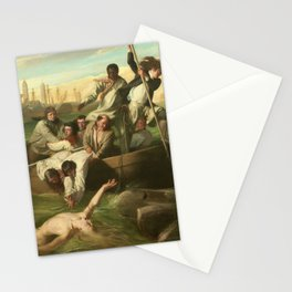 Classical Masterpiece 'Watson and the Shark' by John Singleton Copley Stationery Cards